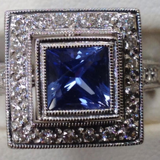 Ceylon Sapphire Judy Mayfield, Bossier City and Shreveport, LA